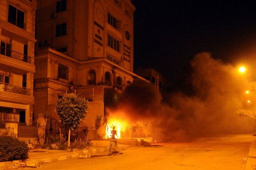 Egypt Protesters Storm Muslim Brotherhood HQ in Cairo