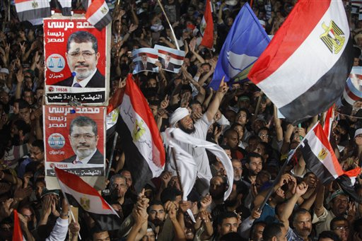 Germany Asks Egypt to Release Morsi