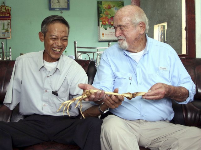 U.S. Doctor Returns Amputated Arm from Vietnam War to NVA Soldier