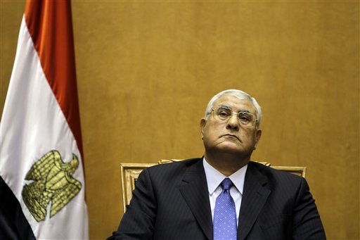 Head of Egypt's Supreme Court New Interim Leader