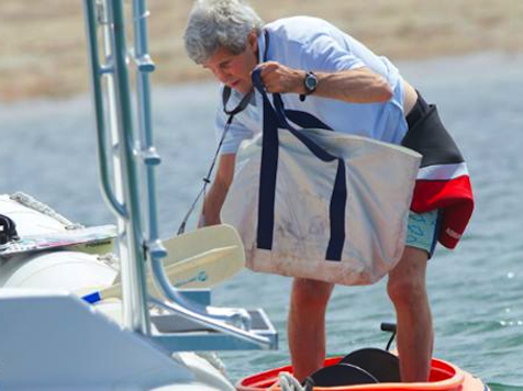 State Dept: Oops, We Lied, Kerry Was Yachting During Egypt Coup