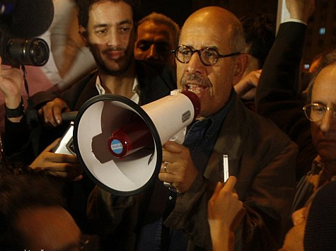 NBC's Gregory: ElBaradei Says He'll Be Next Egyptian PM
