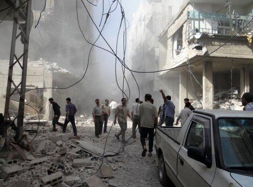 Syria Army Presses Homs Assault
