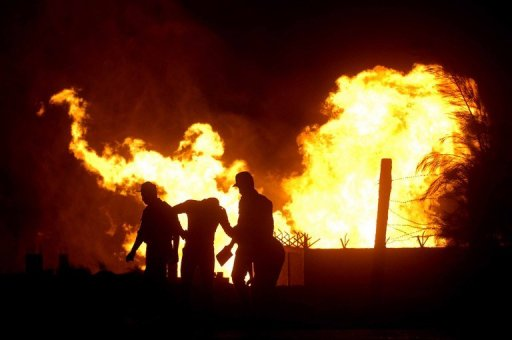 Egypt Militants Bomb Gas Line to Jordan
