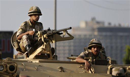 Report: Egypt Military Will Crush Hamas
