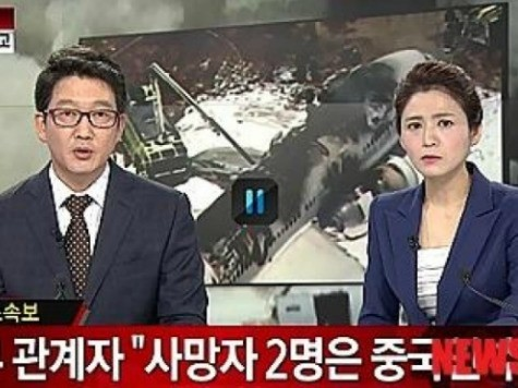 Korean Broadcaster: 'Lucky' No Koreans Killed in Asiana Accident