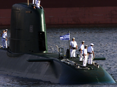 Report: Israeli Sub Knocked out Russian Missiles in Syria