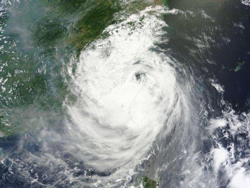 China Forecasts Heavy Rain from Typhoon Soulik