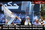 "Pro-Morsi Demonstrators at Jerusalem Mosque: ""Obama Listen Up, The Caliphate Shall Return"""