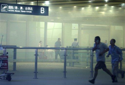 Bomb Detonated at Beijing Airport, 1 Injured
