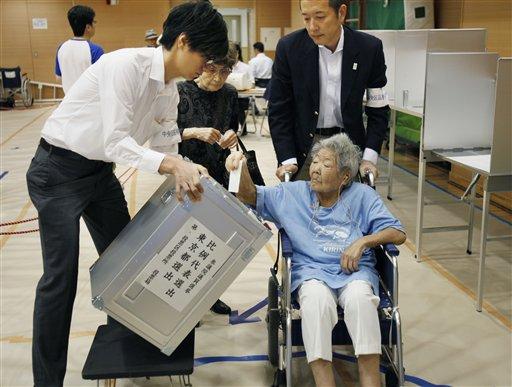 Media: Japan ruling bloc wins upper house election