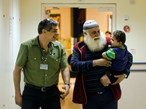 Abandoned Disabled Palestinian Toddler Cared for in Israeli Hospital