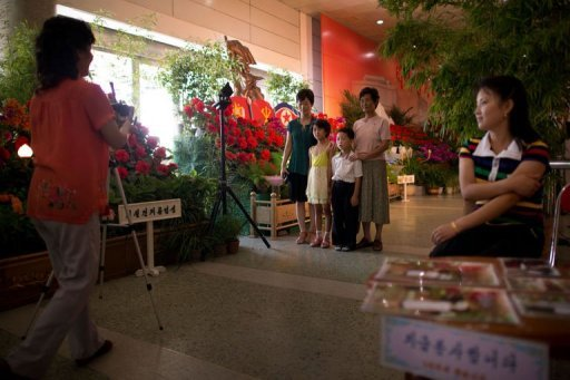 Guns, Grenades and Rockets at N. Korea Flower Show
