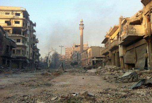 Syria Army Retakes Key Homs Rebel District
