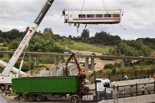 Spanish Train Crash Driver Identifies Caller