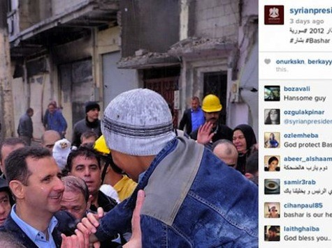 State Department Blasts Assad's Instagram Account