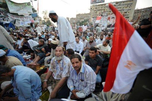 Egypt Morsi Supporters Unswayed After US Envoy Talks