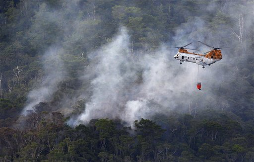 US Military Helicopter Crashes in Okinawa