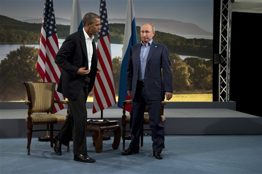 In Rebuke, Obama Cancels Moscow Summit with Putin