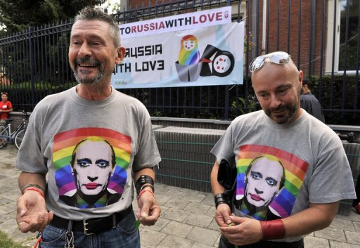 Russian Law Sends Gay Families Running and Hiding