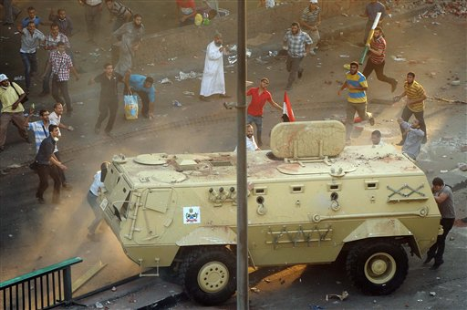 Death Toll in Egypt Violence Rises to 327