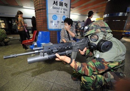 S. Korea-US Drill Begins, Simulating Invasion by North
