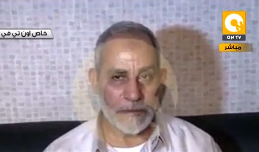 Egypt Arrests Brotherhood's Spiritual Leader
