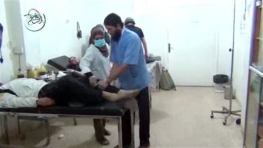 UN at Site of Alleged Chemical Attack in Syria