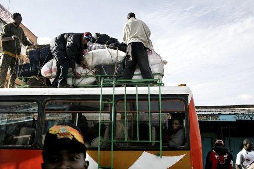 41 Dead in Kenya Bus Disaster
