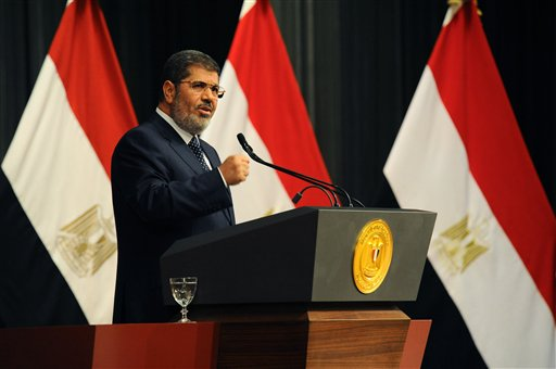 Egypt's Morsi Indicted in Protesters' Killings