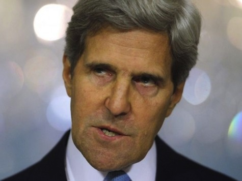 Kerry 'Thinking Out Loud' About Putting Boots on the Ground in Syria