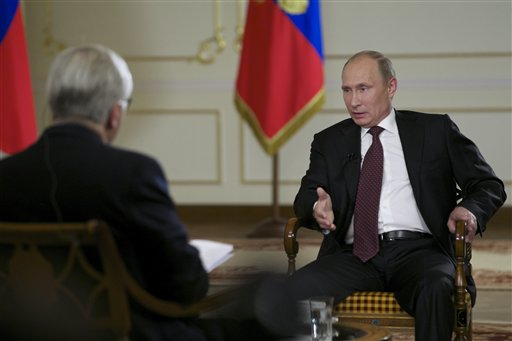 Putin: Obama Wasn't Elected 'to Be Pleasant to Russia'