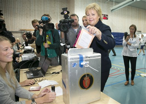 Early Returns: Right Bloc Win Norway Election