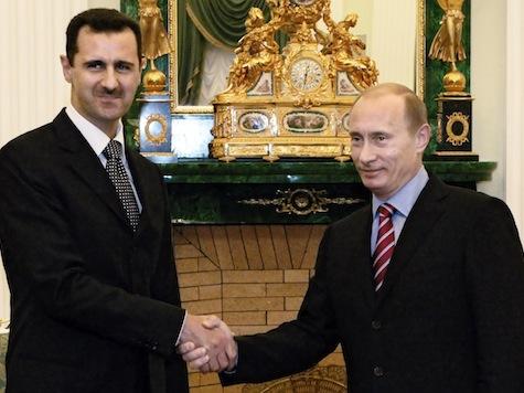 Assad Thanks Putin for Opposition to Obama