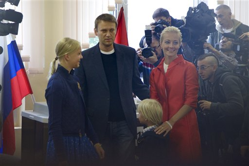 Strong Showing for Navalny in Moscow Mayoral Race