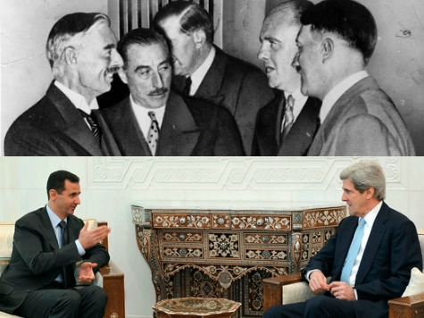 Peace In Our Time: Obama Caves to Putin, Assad, Iran