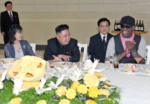 Rodman Reveals Name of Kim Jong-Un's Daughter
