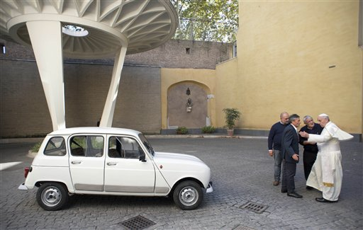Priest Gives Used Car to Pope, Who Wants to Drive