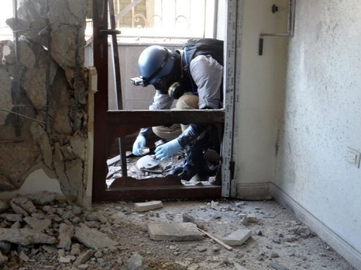 Report: Syria Chemical Arms Destruction 'Immensely Difficult'