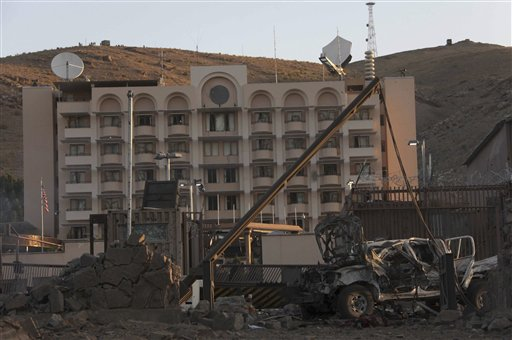 Afghan Taliban Attack US Consulate, Kill Two Afghans