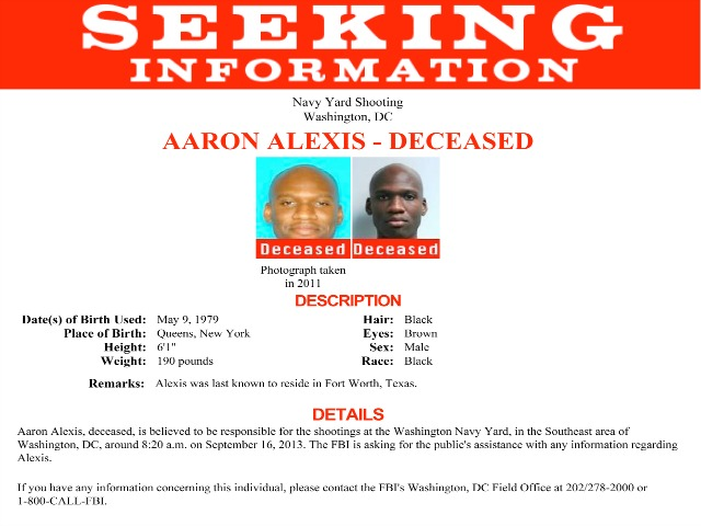 Aaron Alexis: Pattern of Mental Health Issues and Arrests