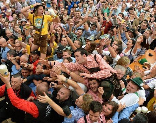 'Beer Today, Vote Tomorrow' Say Oktoberfest Revellers