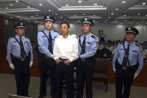 Chinese Politician Bo Xilai Gets Life Sentence