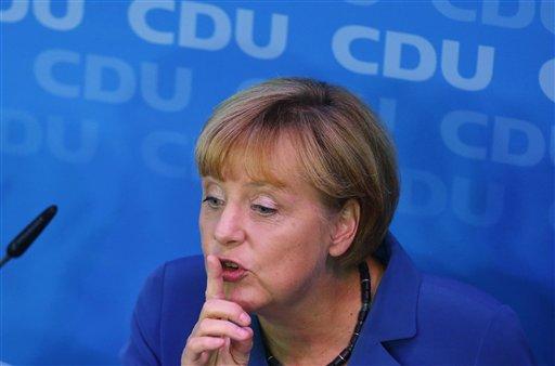 Merkel Triumphs in German Bote but Allies Crushed
