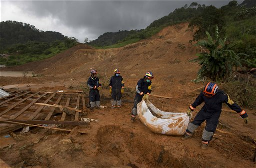 Slide Victims Recovered as Mexico Storm Toll Rises