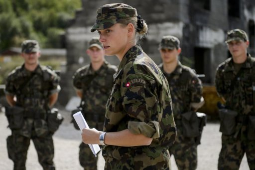 Swiss Vote on Axing Military Draft