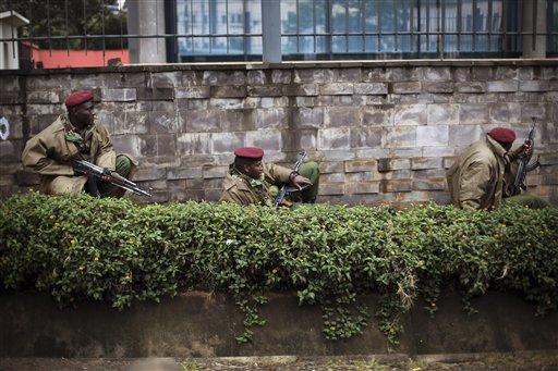 Multiple Blasts Rock Kenya Hostage Crisis Mall