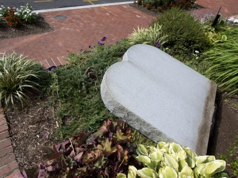 Church Organization Leader: Would Have Taken 'Four Adult Males' to Vandalize 10 Commandments Monument