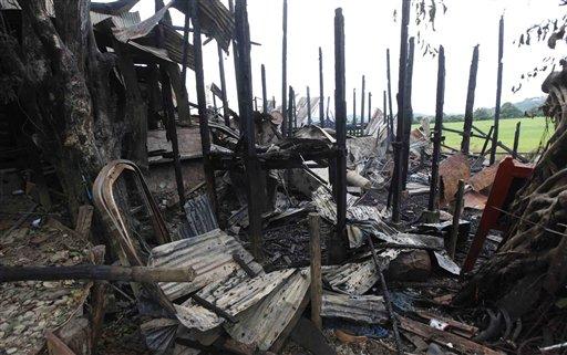 Muslims Hide amid Myanmar Sectarian Violence