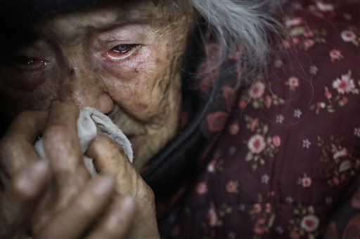 In Aging China, Old Woman Sues Children for Care